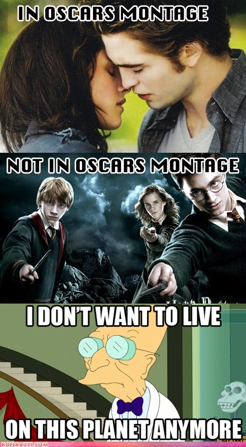"No ""Harry Potter"" in Oscars Montage?! WTF Academy!"