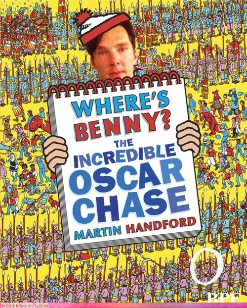 academy awards,benedict cumberbatch,oscars,wheres waldo