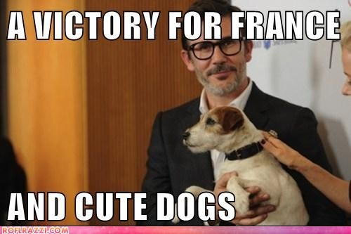 Oscar Winner Michel Hazanavicius and UGGIE!!!!