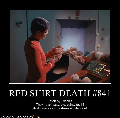 RED SHIRT DEATH #841