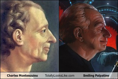 Charles Montesquieu Totally Looks Like Smiling Palpatine