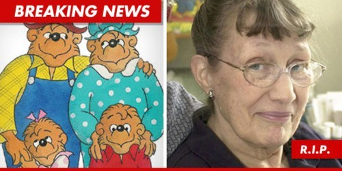 RIP: Jan Berenstain, at 88