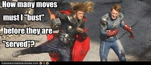avengers,bust a move,chris evans,chris hemsworth,hammer time,moves,served