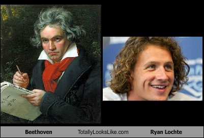 Beethoven Totally Looks Like Ryan Lochte