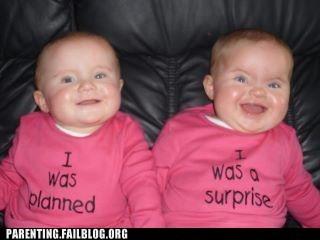 planned,surprise,troll,twins