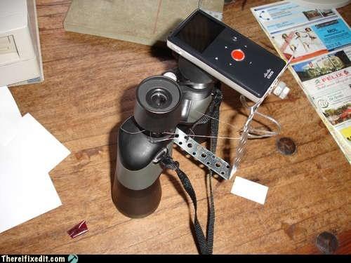 binoculars,mp3 player,zoom lens