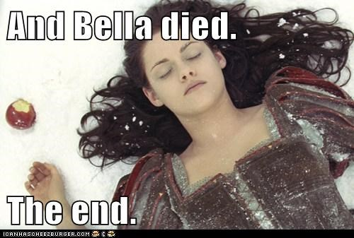 How Twilight's First Chapter Should Have Ended. And Began.