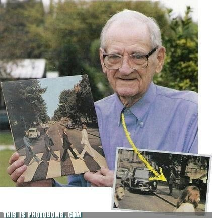 Photobombing Before It Was Cool