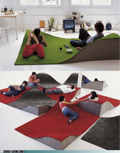 best of the week,carpet,floor,hills,lumps