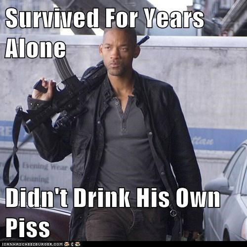 Survived For Years Alone  Didn't Drink His Own Piss