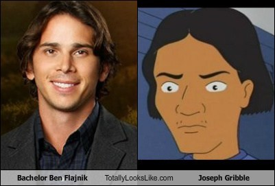 Bachelor Ben Flajnik Totally Looks Like Joseph Gribble (King of the Hill)