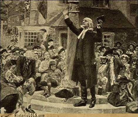 This Day in History: John Wesley Charters The First Methodist Church in The United States