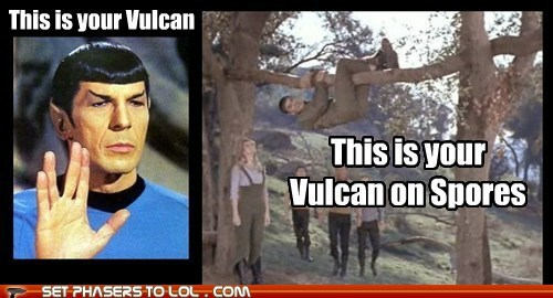 Leonard Nimoy,Spock,spores,Star Trek,this is your brain on drugs,Vulcan