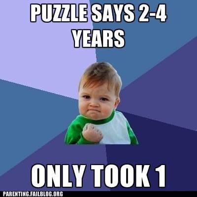 puzzles,success kid