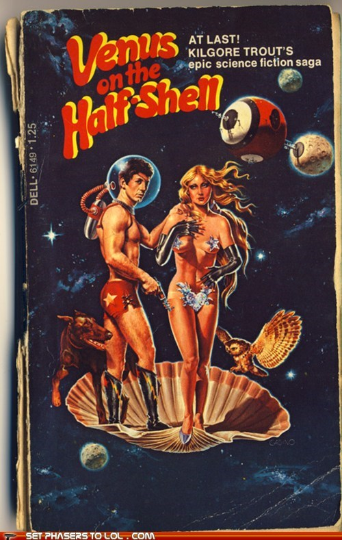 WTF Sci-Fi Book Covers: Venus on the Half-Shell