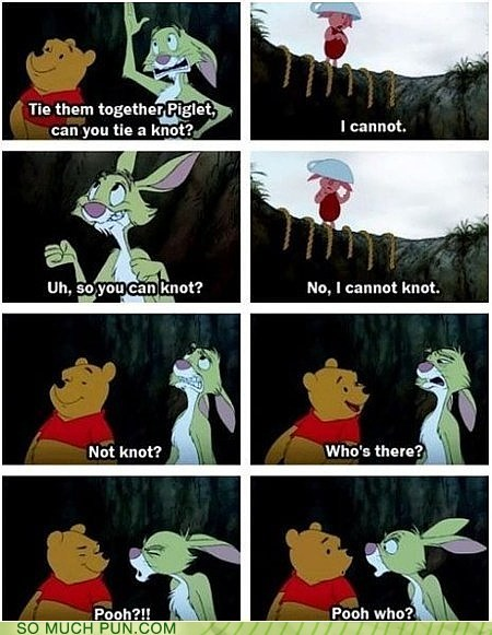 cannot,Hall of Fame,homophone,homophones,knot,not,piglet,pooh,rabbit,winnie the pooh