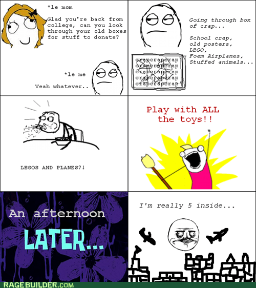 Rage Comics: My Inner Child Lives!