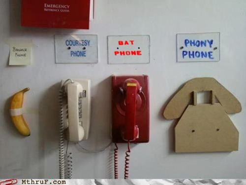 I'm Suspicious Of The Courtesy Phone