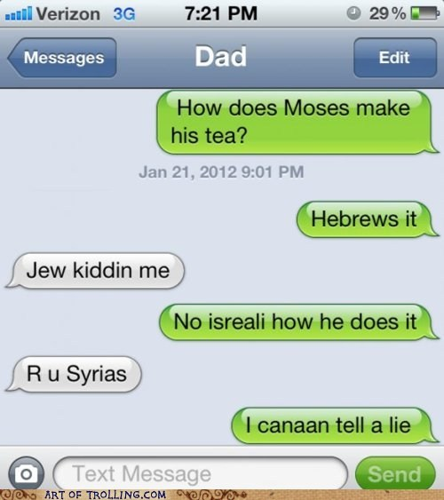 A Joke You Just Can't Passover