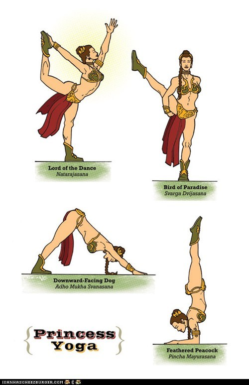 Princess Leia Poses
