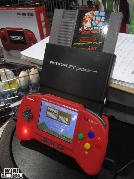 Portable NES WIN