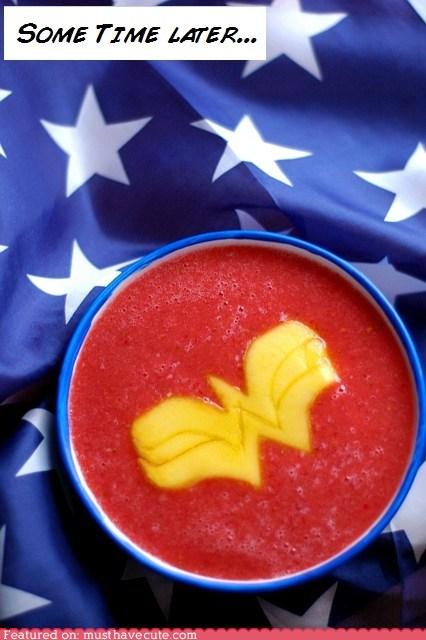 epicute,mango,soup,watermelon,wonder woman
