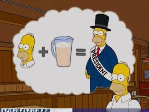 beer,cartoons,homer,politics,screencap,simpsons,true facts