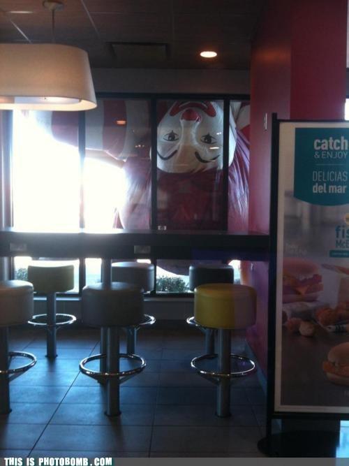 Ronald Loves Watching People Eat Big Macs