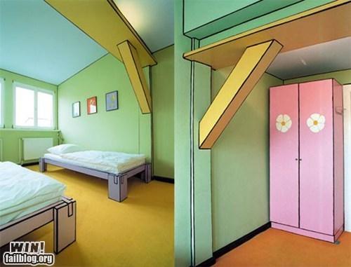 Cartoon Hotel Room WIN