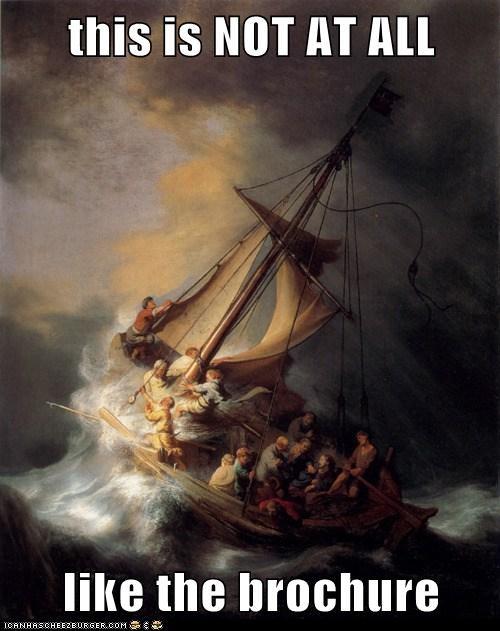 Go Sailing, They Said...