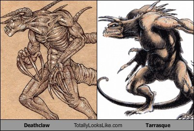 Deathclaw Totally Looks Like Tarrasque
