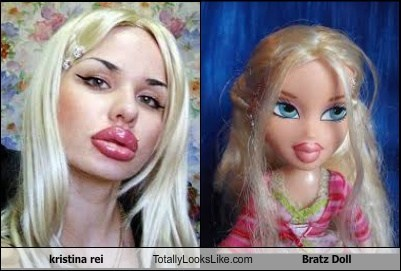 Kristina Rei Totally Looks Like Bratz Doll