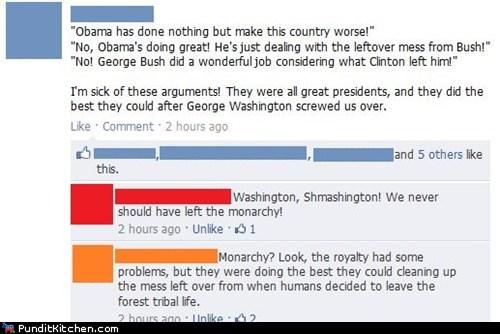 barack obama,facebook,george washington,Hall of Fame,political pictures