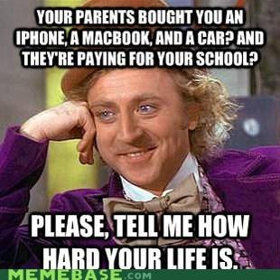 computer,hard,life,macbook,Memes,parents,Willy Wonka