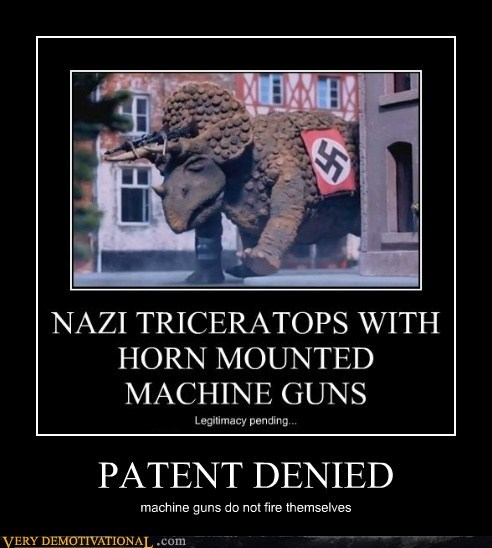 PATENT DENIED