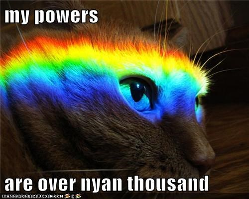 my powers  are over nyan thousand