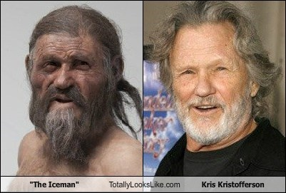 """The Iceman"" Totally Looks Like Kris Kristofferson"