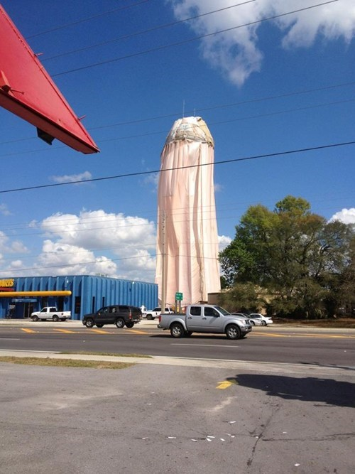 Water Tower Color FAIL
