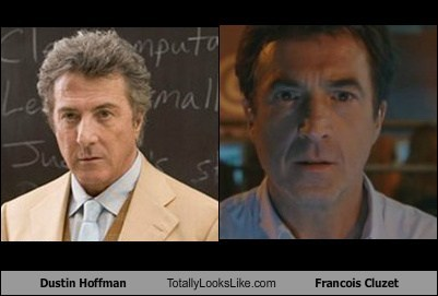 Dustin Hoffman Totally Looks Like Francois Cluzet