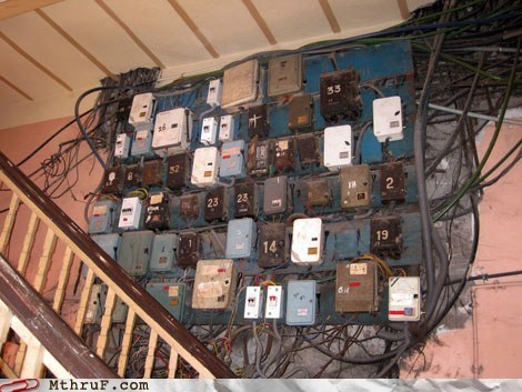 bills,electric box,india,wires