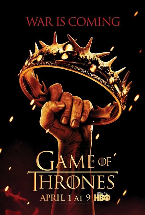 Game of Thrones Season 2 Poster and MMO Announcement of the Day
