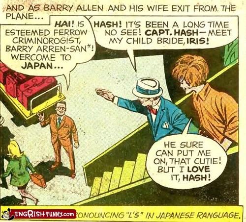 D.C. Comics Knows Its Engrish