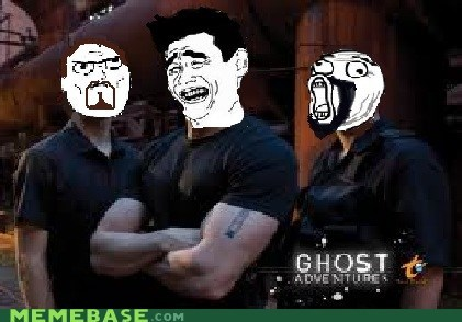 Rageface Ghost Adventures