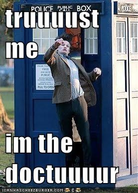 Derp: Even the Doctor Derps