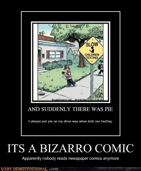 ITS A BIZARRO COMIC