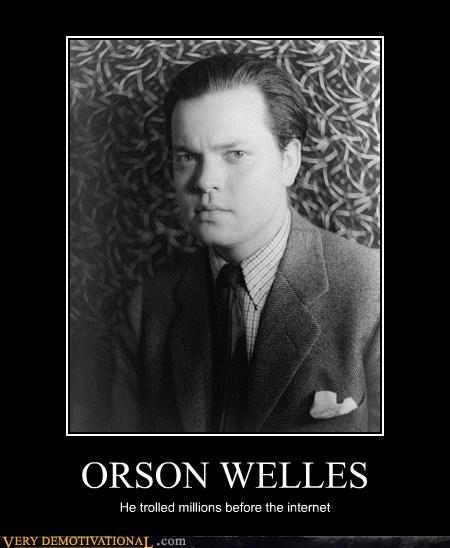 hilarious,orson wells,troll,war of the worlds