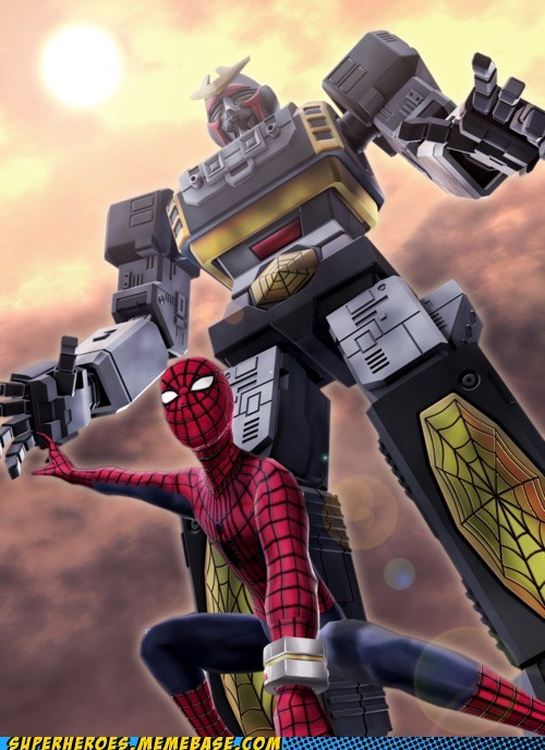 SUPAIDAMAN and his giant robo