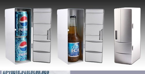 Perfect For Storing... Soda... At Work...