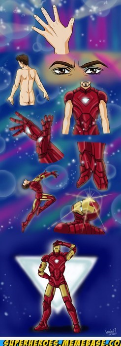 Was Ironman in Sailor Moon?