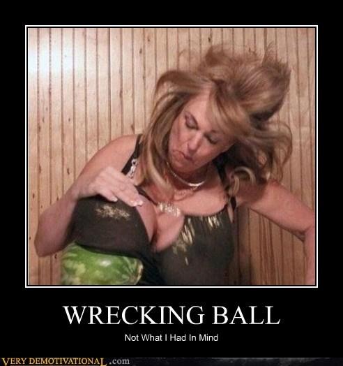 bewbs,hilarious,Water Melon,wrecking ball,wtf
